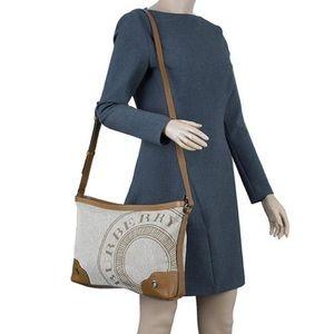Authentic Rare Burberry Crossbody Bag Messenger